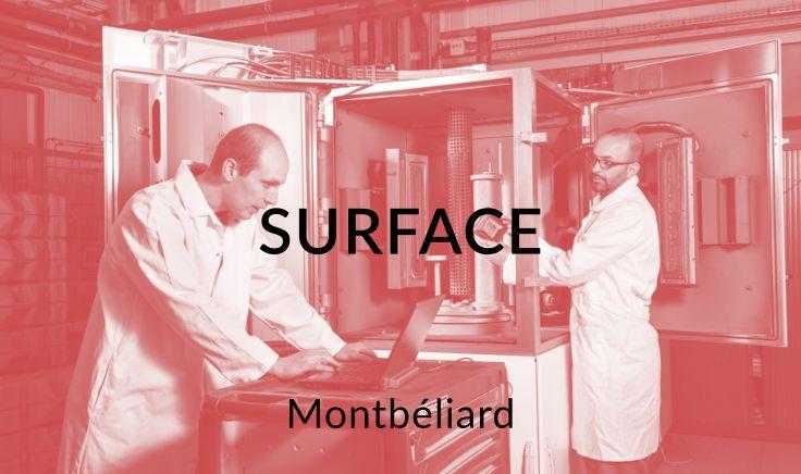Surface - Montbéliard